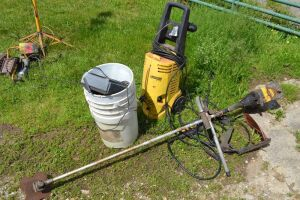 Weedeater & Pressure washer